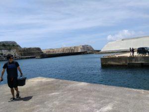 南大東漁港